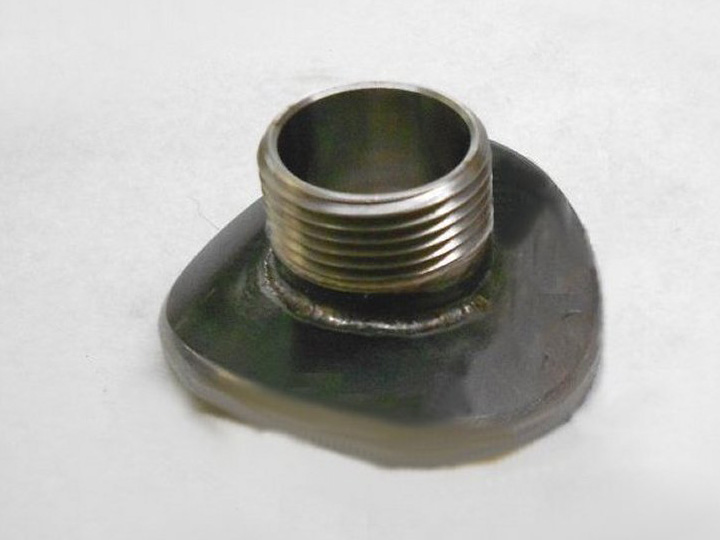 pipe saddle adapter